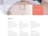 Say spa service page