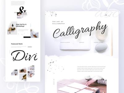Calligrapher - Sneak Peek