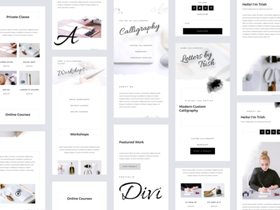 Calligrapher - Mobile Pages