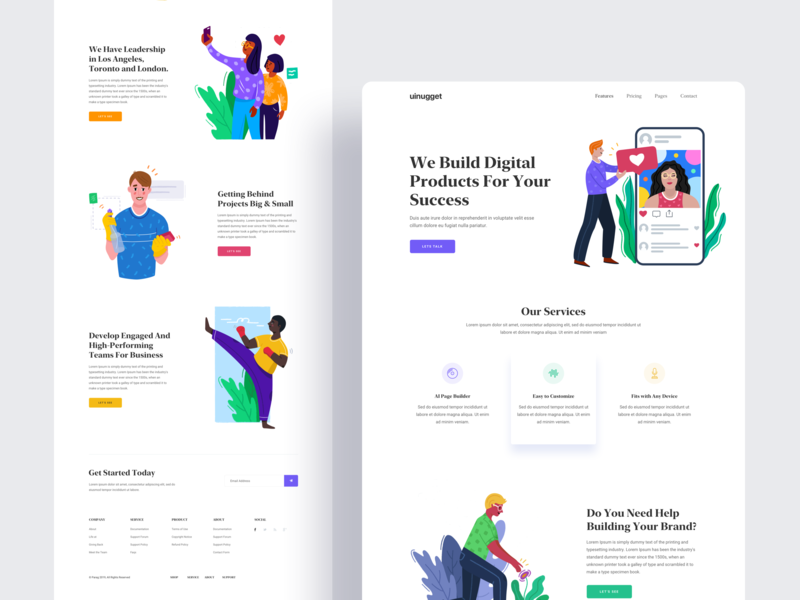 Design Studio 2.0 uinugget typography clean dribbble web card interface animation branding illustration print product design web design gradient agency exploration people gradients marketing financial