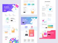 Mobile App Template Design for Divi