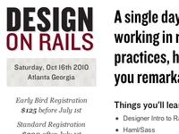 Design on Rails