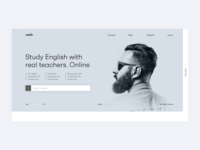 Language Courses Landing Page | Commercial Work