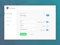 Daily UI #006 - Settings
