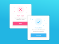 Daily UI #011 - Flash Error Success
