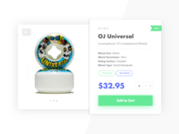 Daily UI #012 - E-Commerce Single Item