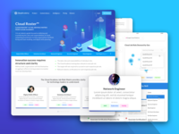 Job Roles Webpage Designs