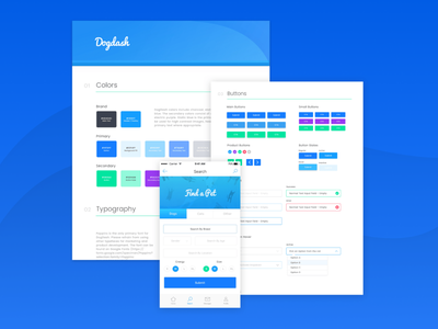 Style Guides system ui ux design visual guide style
