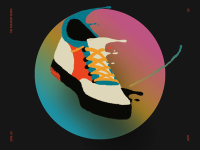 The Sneaker Series | 3 of 3 sneakers design illustration motion design animation gif