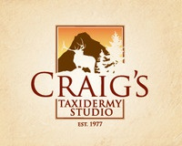 Craig's Taxidermy Logo Design