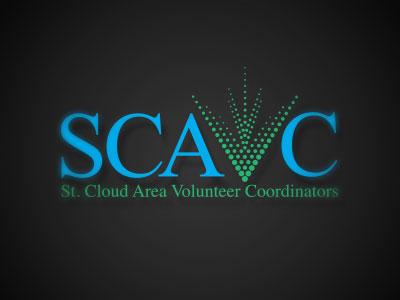 SCAVC Identity logo volunteer identity typography pro bono