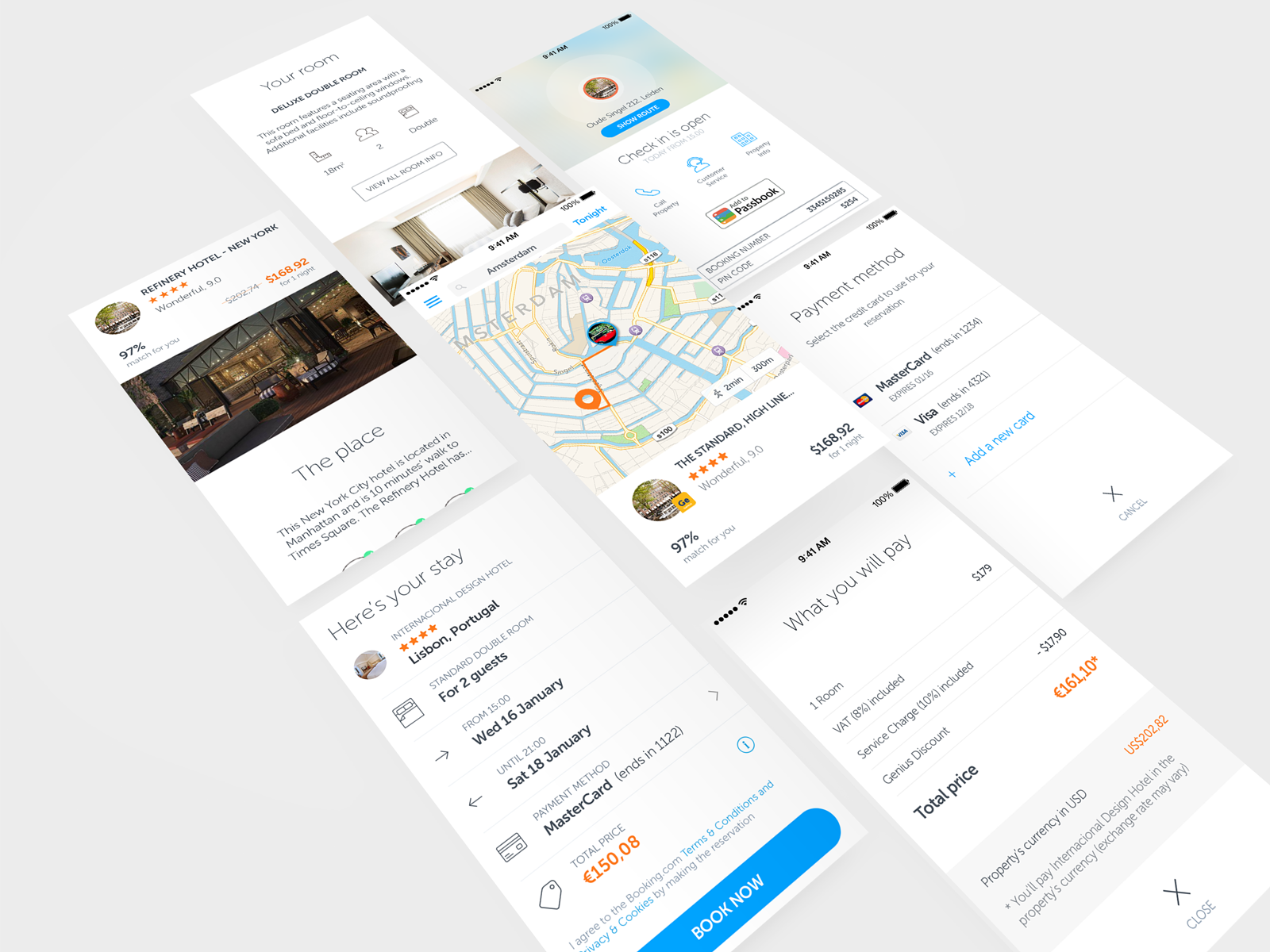 App screen showcase mockuplarge
