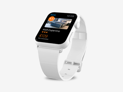 Apple Watch - Booking Now wearable mobile booking now apple watch booking.com apple watch hotel travel reservation commerce