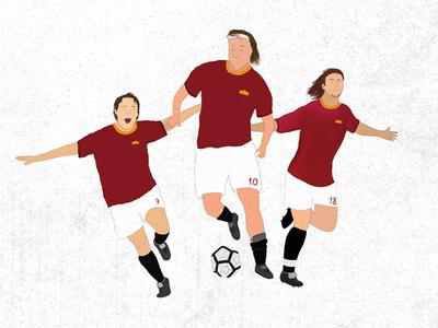 Roma FC - Gladiators on the field