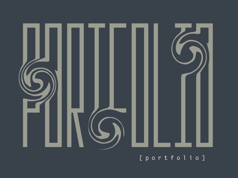 Portfolio Lettering portfolio illustration design typography lettering