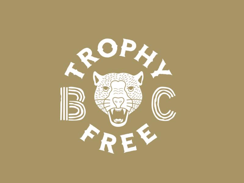 Cougar Logo typography illustration design lettering branding logo wildlife cougar