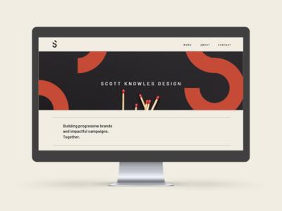 New Personal Website website ux mark type design typography branding logo ui