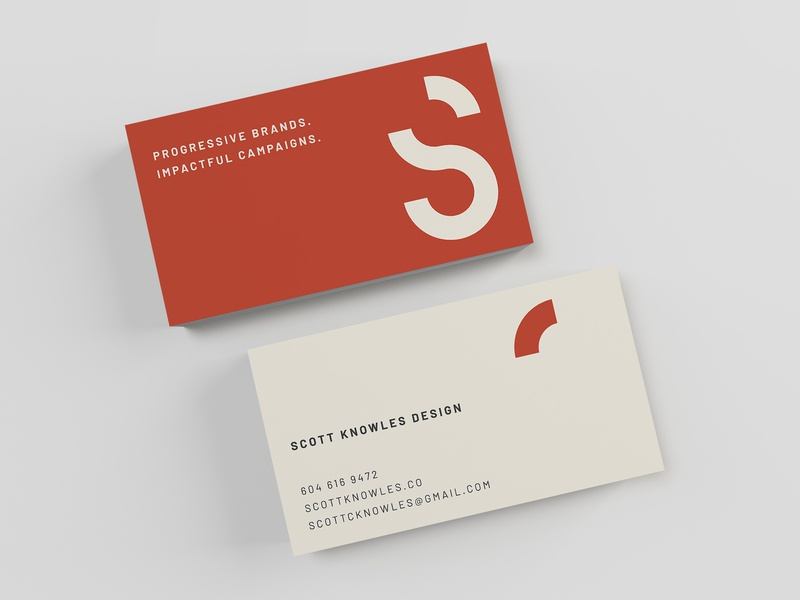 New Business Card mark design type typography business card logo graphic design branding