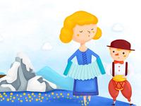 World illustration  Ireland