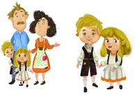 children's book⎮hansel&gretel