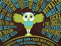 Music Festival Owl