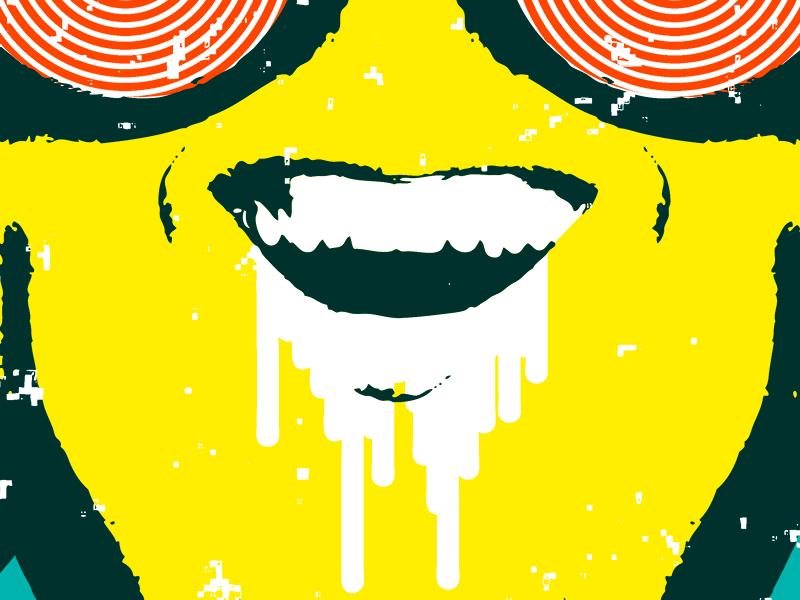 Wavves @ Maha Music Festival Gig Poster screen print adobe illustrator adobe photoshop gig poster