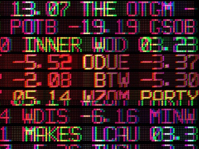 """The Inner Party """"Makes A Mess"""" Release Gigposter gigposter digital art glitch adobe photoshop graphic design"""