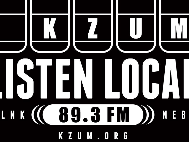89.3FM KZUM Hoodie Design kzum apparel adobe illustrator graphic design