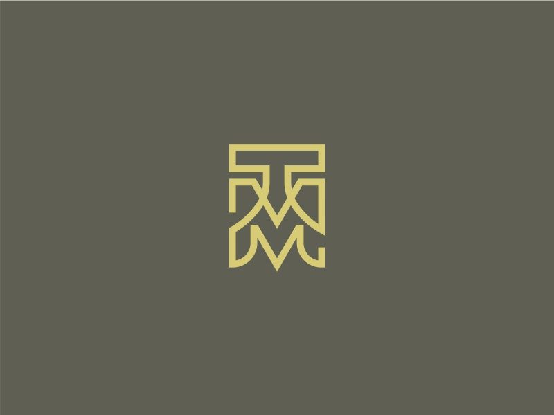 Tm Logo By Tenuart Dribbble