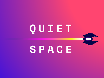 Quiet Space - Game uidesign ui outerspace galaxy space calming calm colors colorful gradient gradients spaceship videogame game design game art game design illustration vector