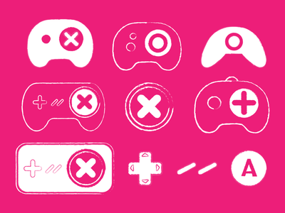Game Face: Feeding Leon gaming controller after effects interactive video video game 2d spine interactive concept developer art game animation cute illustrator graphic design character illustration vector