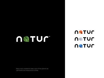 natur cloud drop leaf minimal simple element wordmark avatar air water earth fire elements branding logo nature natur