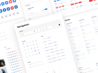 Zoom Redesign – Component Library