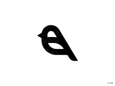 Chirp nest chirp branding feather minimal animal icon brand simple logo bird