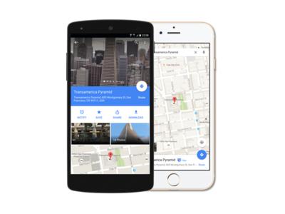 Google Maps Notify feature app ux googlemaps google