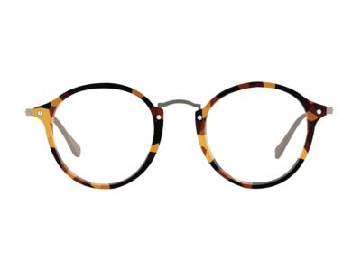 Thin Tortoise Shell Glasses flat simple glasses design illustrator illustration
