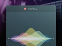 Recording in progress pixels