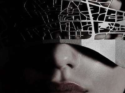 Trindo 3d Print Bea Dark trindo additivemanufacturing fashion mask 3dprint 3d