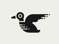 Pixel Duck Logo