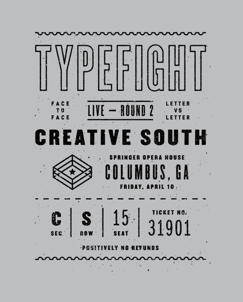 Typefight creativesouth shirtfull