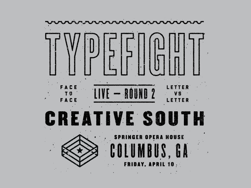 Typefight creativesouth shirt