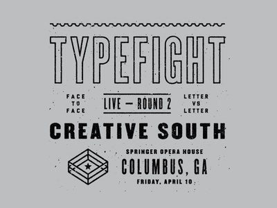 TypeFight Live at Creative South