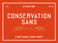 Conservation Sans