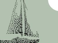 Boat illustration for Meltemi