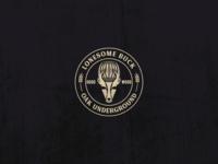 Lonesome Buck - Oak Underground Beer Logo