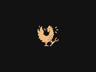 Galo Galo Logo food and drink identity stylish fast food chicken restaurant rooster logo fire rooster clean simple branding geometric logo design logo