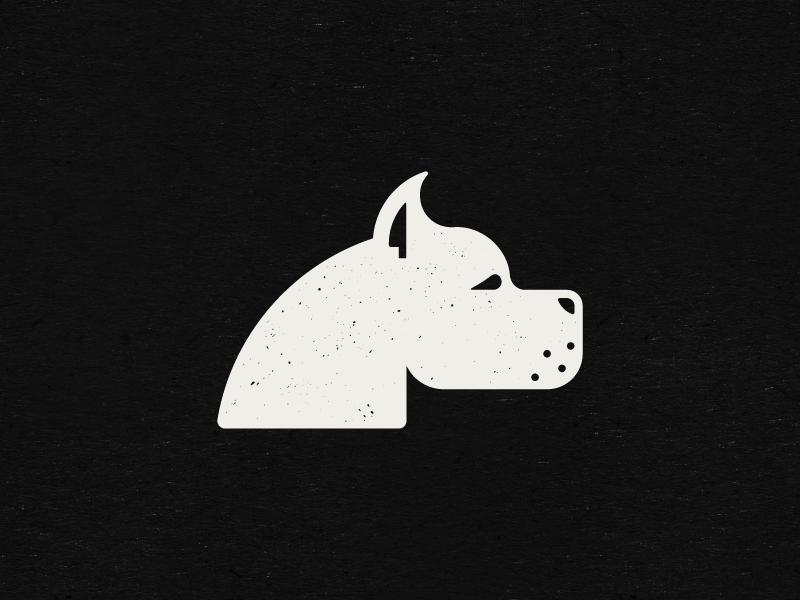 Dogo Argentino and Knife by Stefan Kitanović on Dribbble