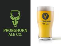 Pronghorn Ale Beer Logo