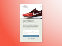 001 Daily Ui - Sign Up