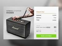 002 Daily UI - Credit Card Checkout